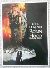 Robin Hood Prince of Thieves, Media Kit, Kevin Costner, '91